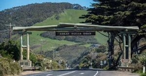 The Gateway to the Great Ocean Road, Victoria, Australia.